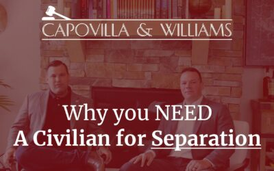 Why You Should Hire a Civilian if You Are Facing Separation