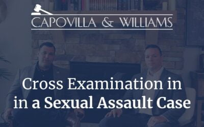 How to Cross Examine Witnesses in a Sexual Assault Case