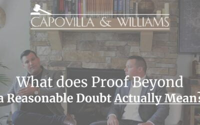 What Does Proof Beyond a Reasonable Doubt Mean?
