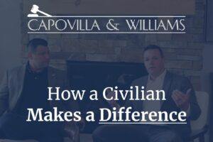 how a civilian makes a difference