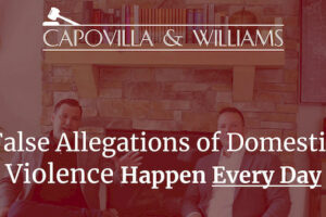 Allegations of domestic violence happen everyday