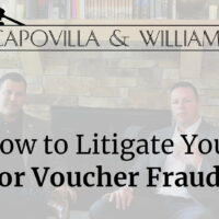 How to litigate your BAH or Voucher fraud case