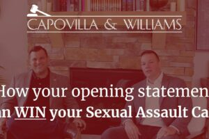 how your opening statement can win your sexual assault case