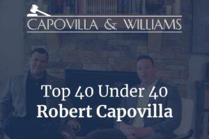 top 40 under 40 Robert Capovilla